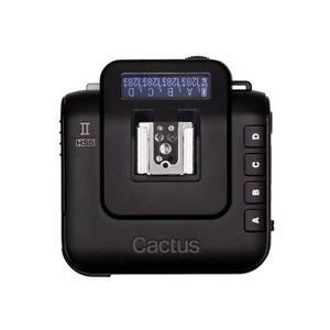 ワイヤレスフラッシュトランシーバー Cactus V6 ll