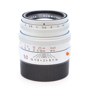ズミクロン M50mm F2 レンズフード組込 (bit改) シルバー
