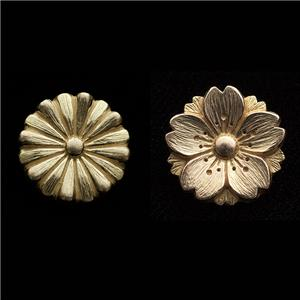 Golden Floral Emblems of Japan 桜&菊Set
