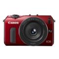 Canon (キヤノン) EOS M EF-M22 STM レンズキット レッド