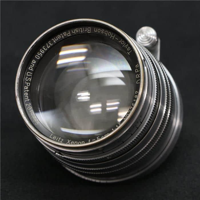 クセノン L50mm F1.5 テーラー・ホブソン刻印入