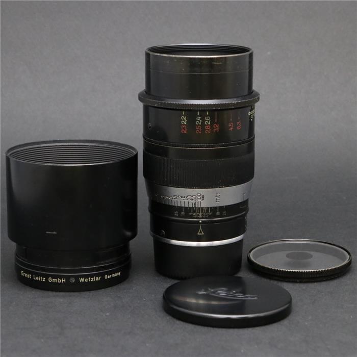 タンバール L90mm F2.2 専用フィルター付