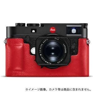 Leica (ライカ) M10用 レザープロテクター レッド メイン