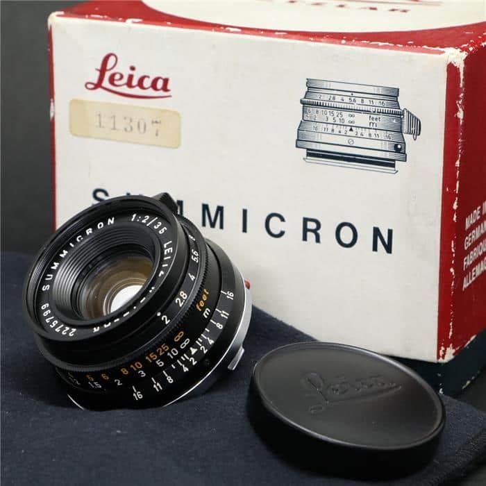 ズミクロン M35mm F2 (8枚玉)