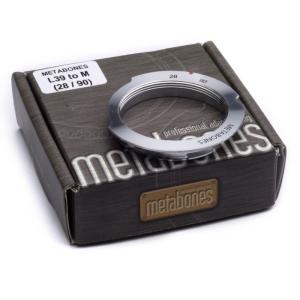 M/L変換リング ライカLレンズ/ライカMボディ用 28/90mm 半欠きタイプ