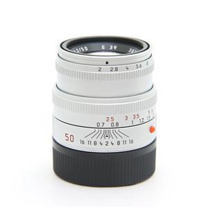 ズミクロン M50mm F2 レンズフード組込 (6bit改) シルバー