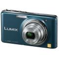 Panasonic (パナソニック) LUMIX DMC-FX77 スエードブルー