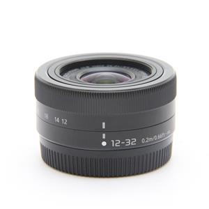 LUMIX G VARIO12-32mm F3.5-5.6 ASPH. MEGA O.I.S. ブラック
