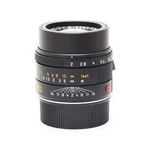 アポズミクロン M50mm F2.0 ASPH. ブラック