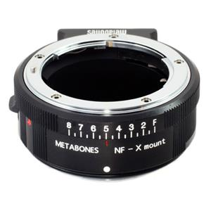 マウントアダプター ニコンF(G)レンズ/フジフイルムXボディ用