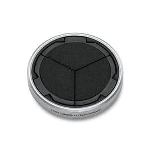 Leica (ライカ) D-LUX7用 オートレンズキャップ シルバー/ブラック メイン