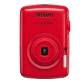 Nikon (ニコン) COOLPIX S01 レッド