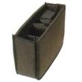 ETSUMI (エツミ) エツミクッションボックスフレキシブルM ブラック