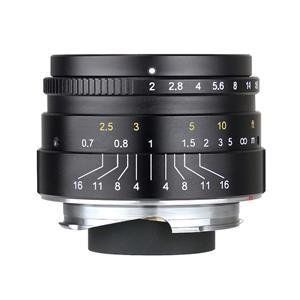 七工匠 (しちこうしょう) 7Artisans 35mm F2 (ライカM用) ブラック メイン