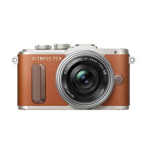 PEN E-PL8 14-42mm EZレンズキット ブラウン