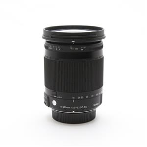 C 18-300mm F3.5-6.3 DC MACRO OS HSM(ニコン用)