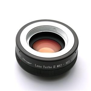 フォーカルレデューサーアダプター M42レンズ/ソニーEボディ用 Lens Turbo II