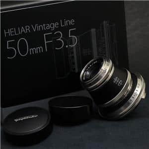 Voigtlander (フォクトレンダー) HELIAR 50mm F3.5 Vintage Line VM(ライカM用) NCP限定モデル メイン
