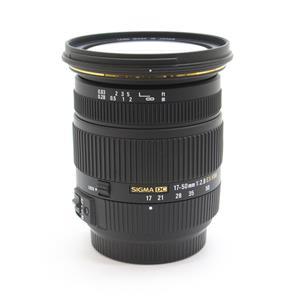 17-50mm F2.8 EX DC HSM(ソニーα用)