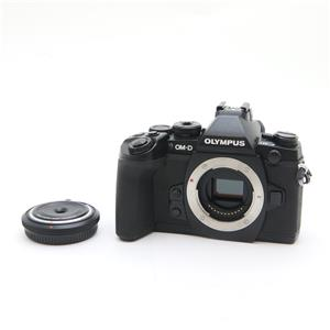 OM-D E-M1 ボディ(BCL-1580セット) ブラック