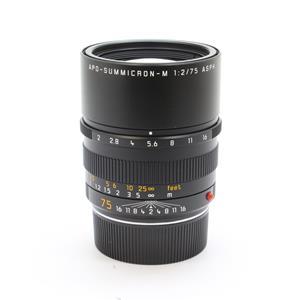 アポズミクロン M75mm F2 ASPH.(6bit) ブラック
