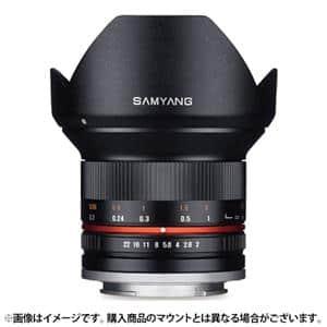 SAMYANG (サムヤン) 12mm F2.0 NCS CS (フジX用) ブラック メイン