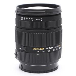 18-125mm F3.8-5.6 DC HSM(ソニーα用)