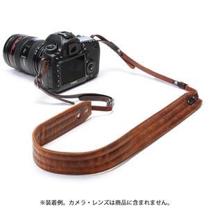 カメラストラップ Leather Presidio アンティークコニャック