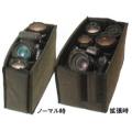 ETSUMI (エツミ) エツミクッションボックスフレキシブルL ブラック