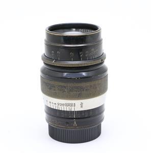 ヘクトール L73mm F1.9  ブラックxニッケル