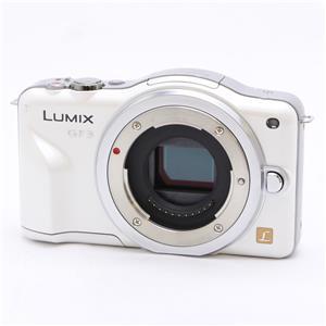 LUMIX DMC-GF3 ボディ ホワイト