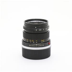 ズミクロン M50mm F2 (ブラック) ※最短0.7m