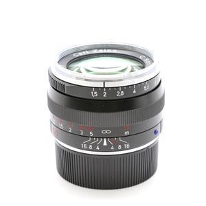 C Sonnar T* 50mm F1.5 ZM(ライカM用) ブラック