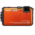 Nikon (ニコン) COOLPIX AW100 サンシャインオレンジ