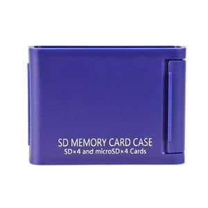 Kenko (ケンコー) メモリーカードケースAS SD4枚用 ブルー メイン