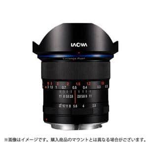 """12mm F2.8""""ZERO-D""""(フルサイズ対応/ソニーα用)"""