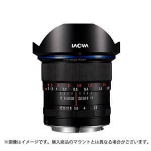 """12mm F2.8""""ZERO-D""""(フルサイズ対応/ソニーE用)"""