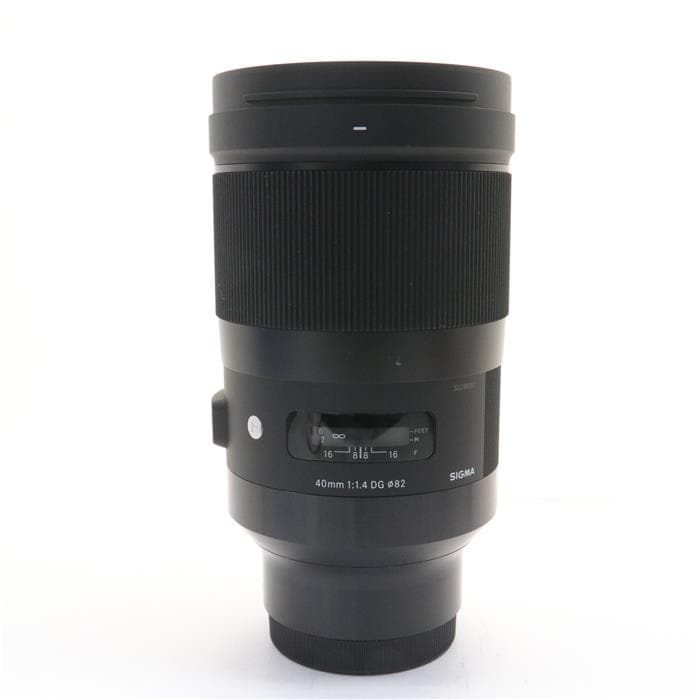Art 40mm F1.4 DG HSM(ソニーE用/フルサイズ対応)