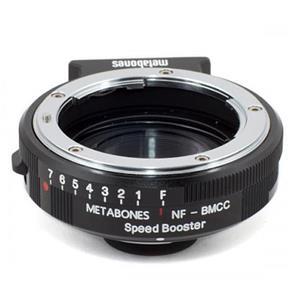 マウントアダプター ニコンF(G)レンズ/Blackmagic Cinema Camera用 SPEED BOOSTER