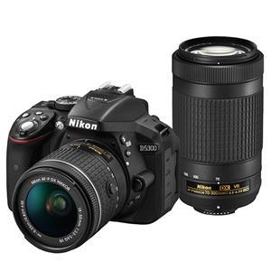 Nikon (ニコン) D5300 AF-P ダブルズームキット ブラック メイン