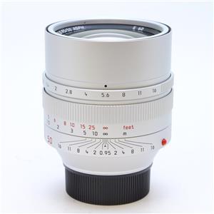 ノクティルックス M50mm F0.95 ASPH. シルバー