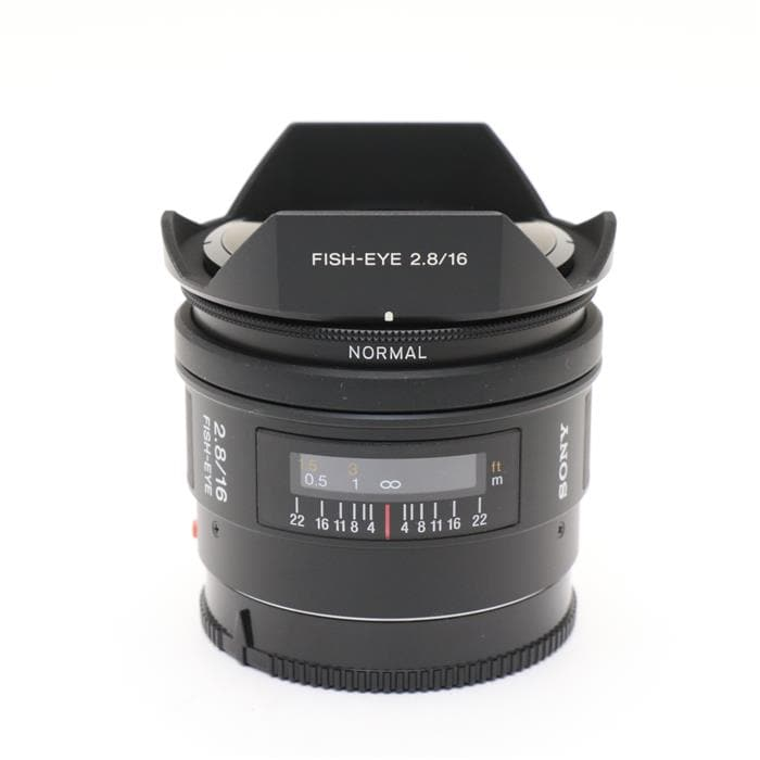 16mm F2.8 Fisheye SAL16F28
