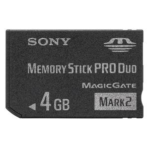 メモリースティックPROデュオ4GB MS-MT4G