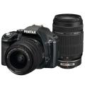 PENTAX (ペンタックス) K-x ダブルズームキット ブラック