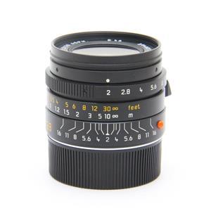 ズミクロン M28mm F2.0 ASPH (フードはめ込み式) ブラック