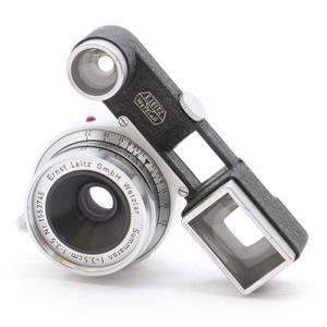 ズマロン M35mm F3.5 眼鏡付