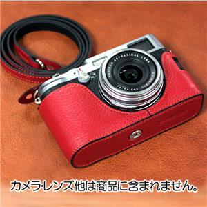 FUJIFILM X100用レザーケース CSE-X100 レッド