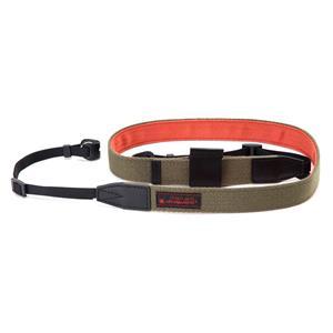 [RED LABEL] レンズキャップホルダー付ストラップ RDS-AC100 カーキー/オレンジ
