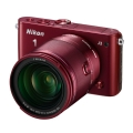 Nikon (ニコン) Nikon 1 J3 小型10倍ズームキット レッド
