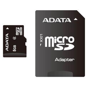 Standard microSDHC Class4 8GB AUSDH8GCL4-RA1